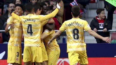 El Girona se entrena sin Stuani, Olunga, Mojica y Bono
