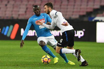 La Serie A sanciona al Atalanta por cánticos racistas contra Koulibaly