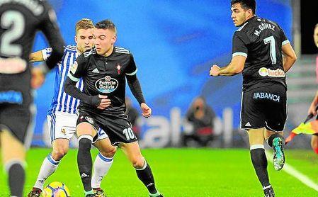 Iago Aspas y Maxi Gómez le dieron la victoria al Celta ante la Real Sociedad en la última jornada.