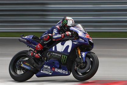 Viñales concluye al frente la segunda jornada, seguido por Rossi