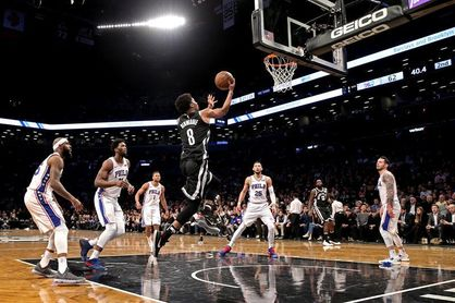 116-108. Dinwiddie logra 24 puntos y Nets cortan racha perdedora