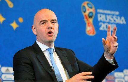 Infantino dice que no tiene candidato favorito para el Mundial de 2026