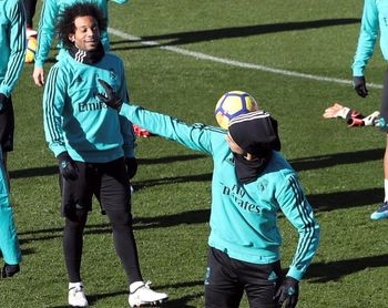 Cristiano vuelve al grupo; Ramos y Varane, listos para jugar