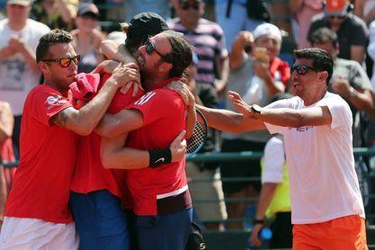 3-1. Chile gana la serie por primera ronda del Grupo I de la Copa Davis y se cita con Argentina