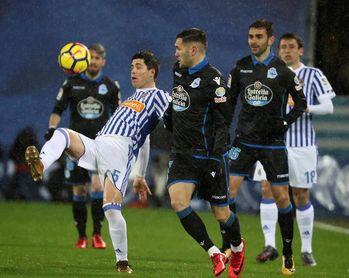 5-0. La Real olvida a Iñigo Martínez con una goleada al Deportivo