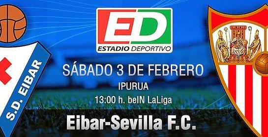 Eibar-Sevilla F.C.: Con la Copa sólo no se come
