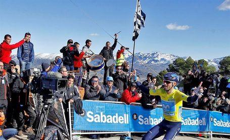 Valverde exhibe su poderío en la etapa reina y sentencia la Volta