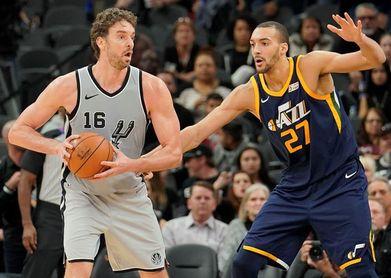 111-120. Rubio da una cátedra de baloncesto ante los Spurs de Gasol y Ginóbili