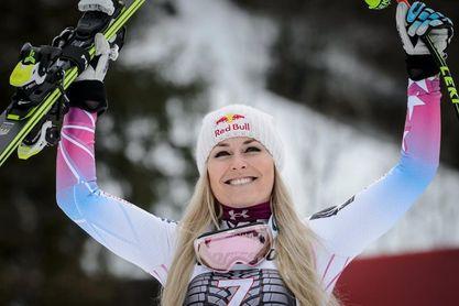 Lindsey Vonn impresiona con un doblete antes de PyeongChang