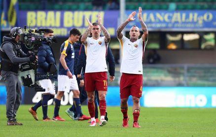 El Roma logra en Verona su primer triunfo de 2018