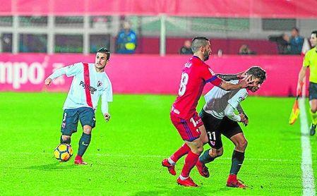 Matos regresará al once por la lesión de Borja San Emeterio, que estará cuatro semanas fuera.