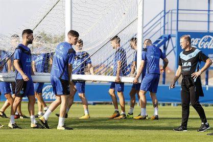 El Alavés entrenará en las instalaciones de Lezama debido al mal tiempo