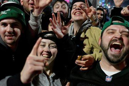 Filadelfia amanece con destrozos por las celebraciones del Súper Bowl