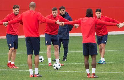 El Sevilla intensifica su preparación de la semifinal tras una nueva decepción en Liga