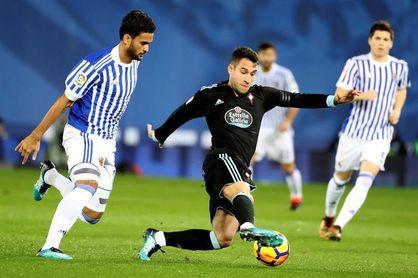 Hugo Mallo se reincorpora a los entrenamientos del Celta