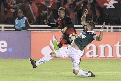 0-1. Santiago Wanderers espera en próxima fase a Santa Fe o Táchira