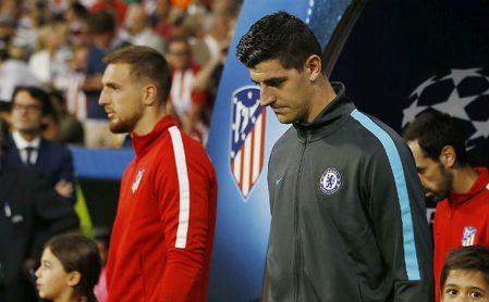 """Courtois se deja querer por el Madrid: """"Mi corazón está allí""""."""