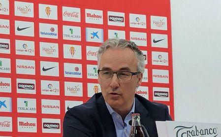 Miguel Torrecilla, actual director deportivo del Sporting de Gijón.
