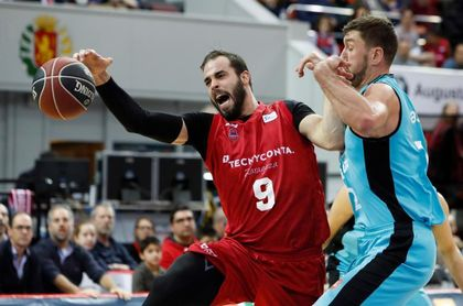 Nikola Dragovic será baja para el partido contra el Delteco GBC