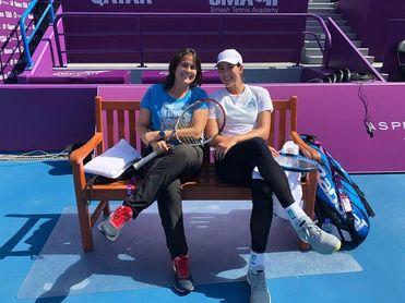 Conchita Martínez acompañará a Garbiñe Muguruza en los próximos torneos