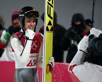 El alemán Andreas Wellinger, nuevo campeón olímpico de trampolín corto