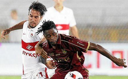 El ex del Barça rescindió su contrato con el Rubin Kazan el pasado 31 de enero.