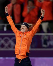 Holanda copa el podio en la final femenina de 3.000 metros
