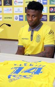 El nigeriano Ezekiel espera brillar en Las Palmas para ir al Mundial de Rusia