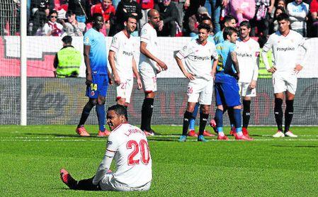 Sufrimiento del Sevilla más allá de los tres puntos