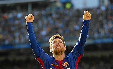 Messi cumple 300 encuentros en el Camp Nou
