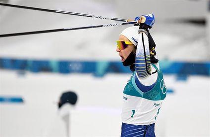 La sueca Stina Nilsson gana el sprint de estilo clásico
