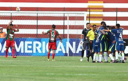 2-0. Ponce y Cardoza aseguran el debut con un triunfo de la UTC en la Sudamericana