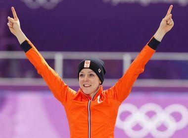 La holandesa Jorien Ter Mors, oro y récord olímpico en 1.000 metros