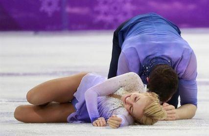 Los alemanes Savchenko y Massot ganan el oro por parejas