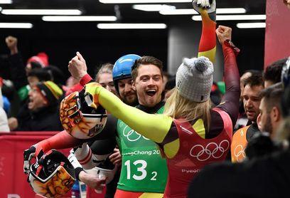 Alemania repite título por equipos mixtos de luge