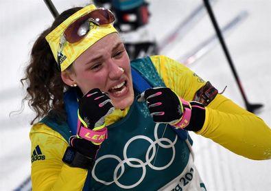 La sueca Hanna Oeberg logra su primer oro en la prueba de 15 kilómetros