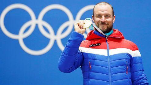 Svindal, oro olímpico, lidera el doblete noruego en descenso, junto a Jansrud