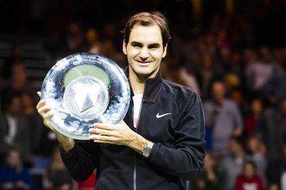 Federer triunfa en Rotterdam y desplaza a Nadal al segundo puesto