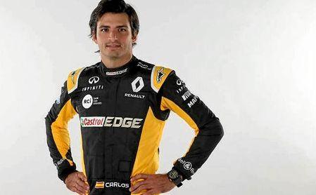 El piloto español Carlos Sainz, perteneciente a la escudería Renault.