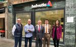 Helvetia seguirá siendo el patrocinador del Club de Remo Arkote