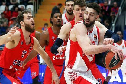 93-86. El Baskonia asusta al CSKA, pero se bloquea en el último cuarto