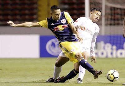 1-1. Olimpia y Red Bulls empatan en la ida de octavos de final de Concacaf