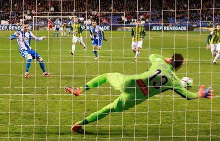 0-0. La mala suerte se ceba con el Deportivo ante el Espanyol