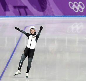 La japonesa Nana Takagi vence en la final de patinaje de velocidad y suma su segundo oro