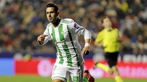 Sergio León firmó el 0-2, tras un pase largo y preciso de Adán.