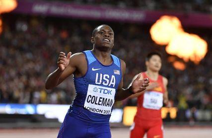 Christian Coleman busca la investidura