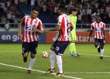 El Junior recibe al Palmeiras en la Libertadores con el peruano Rodríguez como novedad