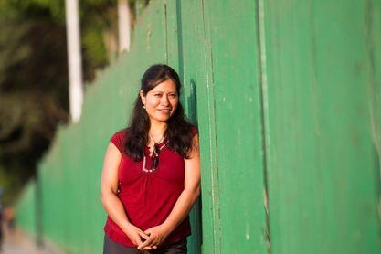 La peruana Flor Cuenca busca mujeres para llevarlas a las cumbres más altas