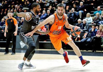 86-70. El Valencia Basket acaba con las esperanzas del Brose en el debut de Williams