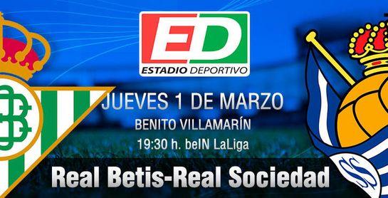 Real Betis-Real Sociedad: Que siga rulando lo que 'fuma' Setién